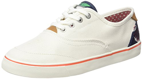 Wrangler Icon Board, Sneaker Basse Donna Bianco (Weiß (98  Off White))