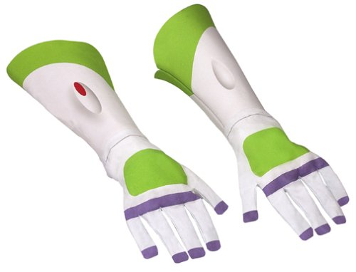 Buzz Lightyear Gloves Costume Accessory (japan (Erwachsene Für Kostüme Lightyear Buzz)