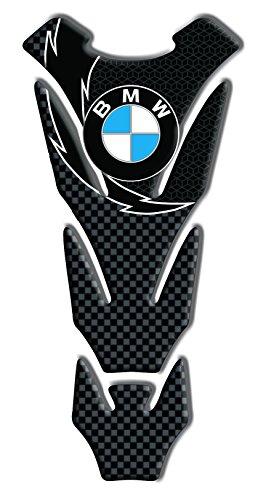 Tankpad Motorad Draht Muster Tankschutz KOMPATIBEL ' BMW RACING CARBON 'Polymer 3D 20 cm x 14 cm Bmw Motorrad