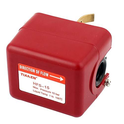 HFS-15 1/2BSP AC 220V 10Bar SPDT Ziel Typ Wasserfluss Paddel Kontrolle Schalter -