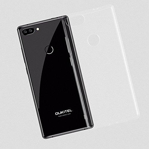 G-Hawk® Weich TPU Silikon Handyhülle Für Oukitel MIX 2 , Super Dünne und Leichte Soft Case Rubber Silicone Skin Hülle (Transparent)