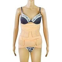 Postnatal Bauchgurt 3 in 1 Set für einen flachen Bauch nach der Geburt - Atmungsaktiv - Größe L - Abdominal Elastische... preisvergleich bei billige-tabletten.eu