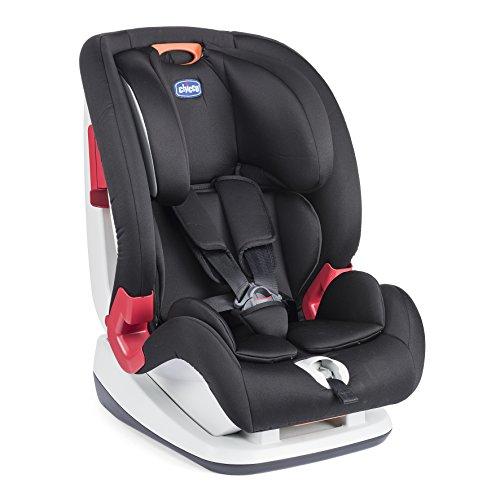 Chicco YOUniverse - Silla de coche para niños entre 1a 12 años (9-36 kg), grupo 1-2-3, color negro