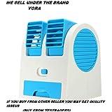 YORA Air-Cooler-Portable-Desktop-Dual-Bladeless-Fan-Air-Pack