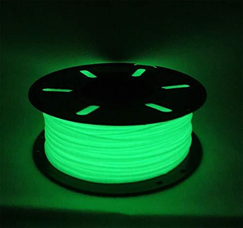 1kg PLA Filament 1,75mm GLOW IN THE DARK GRÜN Nachtleuchtend Green 3D Druck