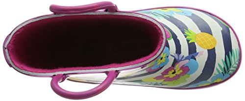 Chipmunks Carmen, Work Wellingtons fille Multicolour (Multi)
