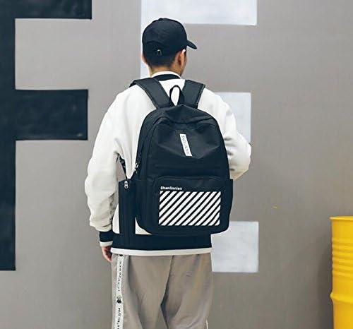 Sac à dos scolaire pour pour pour enfant Creative Stripe Pattern toile sac à dos étudiant unisexe cartable B07KXMQR6V | New Style  3581f3