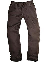 Kakadu Traders Burwood Woman Pantalones para mujer de 5Pocket corte recto, mujer, color azul oscuro, tamaño large