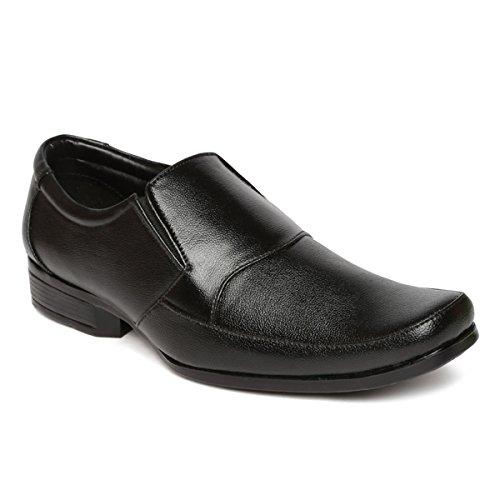 Paragon Men Black Formal Shoes