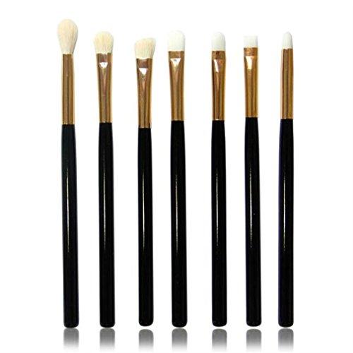 Pinceaux Maquillage, Makeup Brushes Set, Kolylong Pinceaux Maquillage Professionnel 7 PCS LèVres Brosse CosméTiques Maquillage Brush Eyeshadow Brush