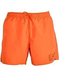 Emporio Armani - Short de bain - Homme orange Orange
