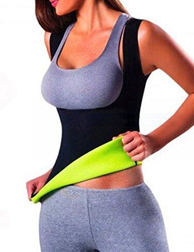ISASSY Damen Corsage Korsett Bauchweg Training Taillenkorsett abnehmen Shirt Taillenformer Fitness