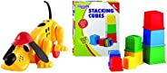 Funskool Digger The Dog & Giggles Giggles Stacking C
