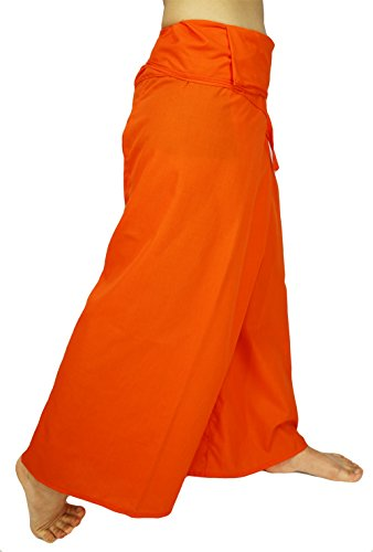 Rosina Herren Hose XX-Large Gr. XX-Large, AF Orange (Plus Size Jump Suit)