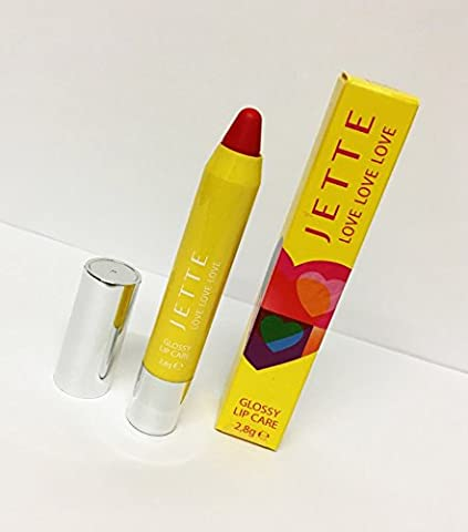Jette Love Love Love GLOSSY LIP CARE 2.8g Lovely Red 54