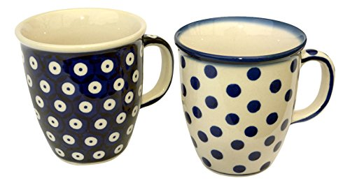 hand-decorated-polish-pottery-manu-faktura-set-k-081-70-a-61x-cup-pack-of-2-mars-90-cm-cobalt-blue-2