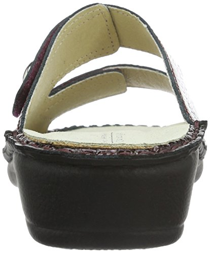 Hans Herrmann Collection Hhc, Mules Femme Rouge - Rot (Caicos Bordeaux)