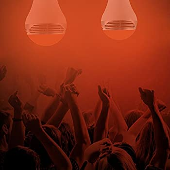 Magichue Neu Farbige Leuchtmittel Sunset Smart Led Bluetooth Lampe Dimmbar Sonnenuntergang E27 Und E26 16 Mio Farben Fuer Android Und Ios (6w Farben Lampe+3w Speaker) 5