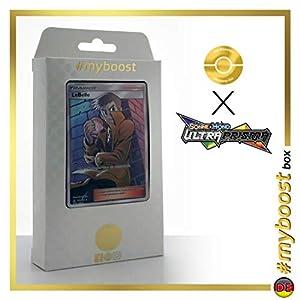 Lebelle (Handsome) 152/156 Entrenadore Full Art - #myboost X Sonne & Mond 5 Ultra-Prisma - Box de 10 Cartas Pokémon Aleman