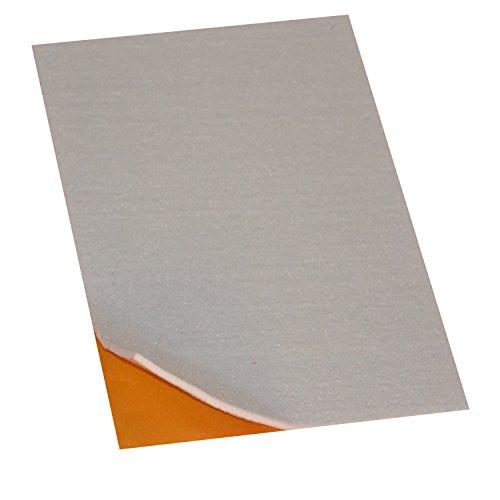 Filzgleiter / Möbelgleiter / Bastelfilz A4 selbstklebend, 1 Stück, Weiß, 4mm stark