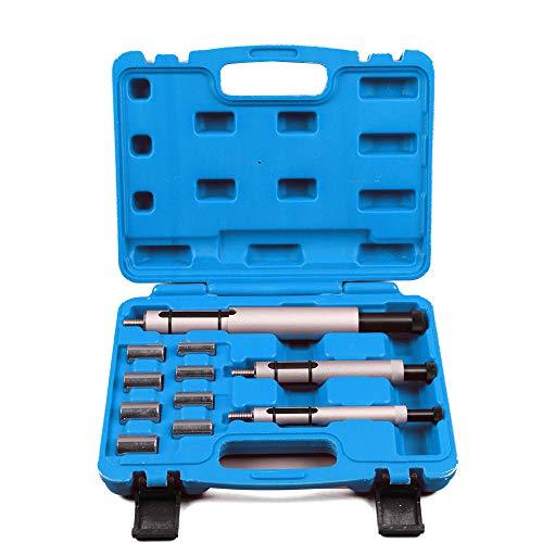 SHIOUCY Kupplung Zentrier Werkzeug Satz Zentrierwerkzeug Zentrierdorn 11-TLG Koffer Stahl Kupplungszentrierwerkzeuge