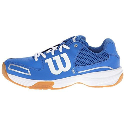 Wilson  STORM, Baskets de tennis mixte adulte - Blau/Weiß