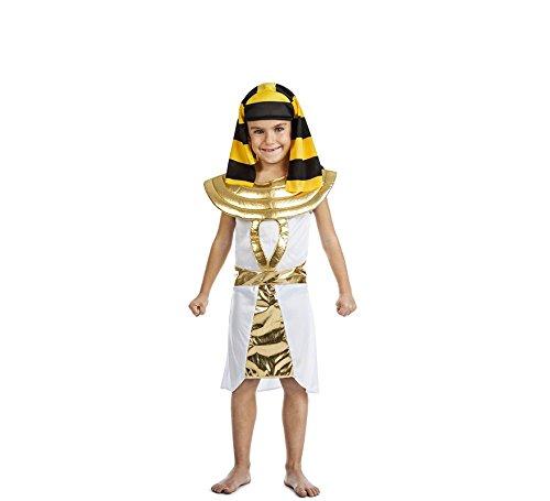 Disfraz de Faraón Egipcio para niño. Incluye Túnica, Tocado. ¡Compra en disfrazzes y recuerda que tienes 14 días para devoluciones!