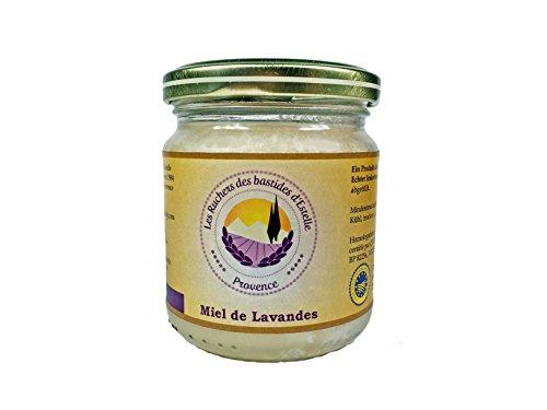 Les Ruchers des bastides d'Estelle - Bio Lavendelhonig (Miel de Lavande) 250 g