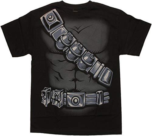 G. I. Joe Herren Gi Joe Snake Eyes Kostüm-T-Shirt-XXLarge (Snake Eyes Kostüm)