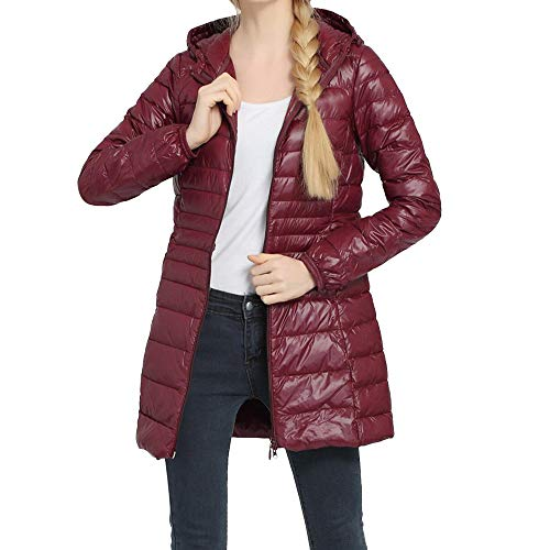TianWlio Jacken Parka Mäntel Herbst Winter Warme Jacken Strickjacken Damen Mäntel Mode Winter Plus Größe Mantel Warme Dünne Daunenjacken Outwear Mantel 6XL