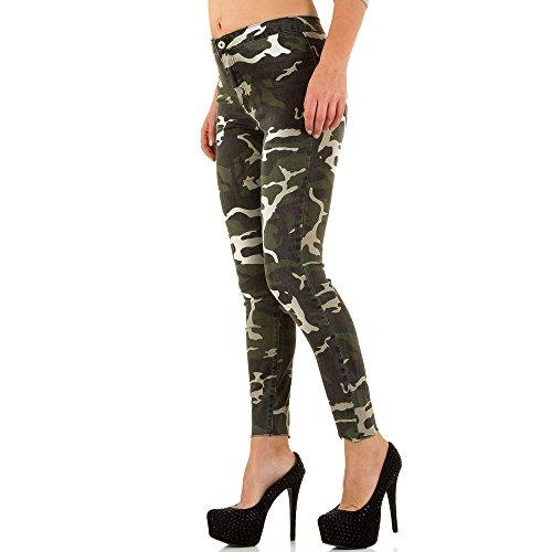 iTaL-dESiGn - Jeans - Skinny - Femme Vert