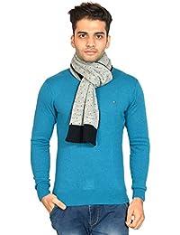 513 Polka dot knitted winter men's muffler