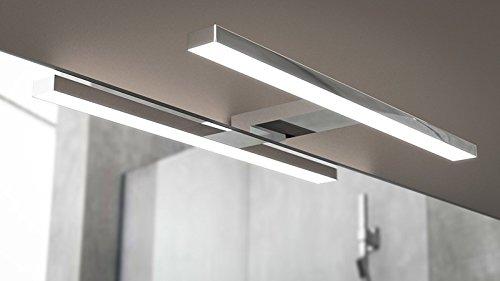 Lámpara 30 cm 4.8 W luz a LED aplique Foco Espejo Muebles Baño Fortuna