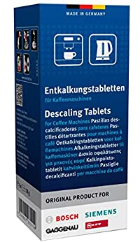 Bosch Siemens Descaler for Coffee Machine, Kettles and Hot Water Dispensers (6 Descaling Tablets)