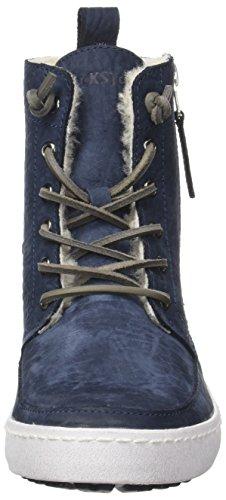 Blackstone Cw96.Navy, Sneaker a Collo Alto Donna blu (navy)