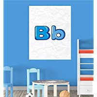 Alphabet B Nursery Children Educational Early Learning Poster Print Wall Art preiswert