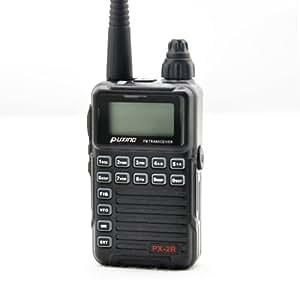 puxing px-2r UHF 400–470MHz Petit 2voies Ham Radio portable FM Transmetteur Talkie Walkie + Oreillette px2r