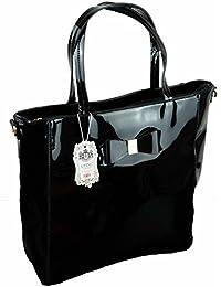 1e3fd26771fc Suchergebnis auf Amazon.de für  schwarze Lacktasche Handtasche ...