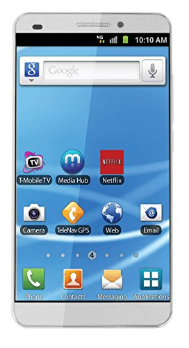 Energy Sistem New HD Dual-SIM 16GB 3G Android Phone in White Colour