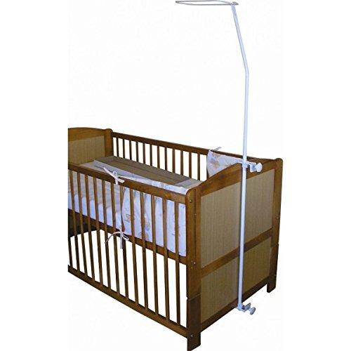 Cosing 332-028-01 Universale Himmelstange/Himmelhalter Für Babybetten, weiß