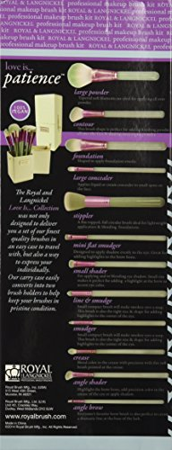 Royal & Langnickel Love is Patience Brush Box Kit – 12 Piece