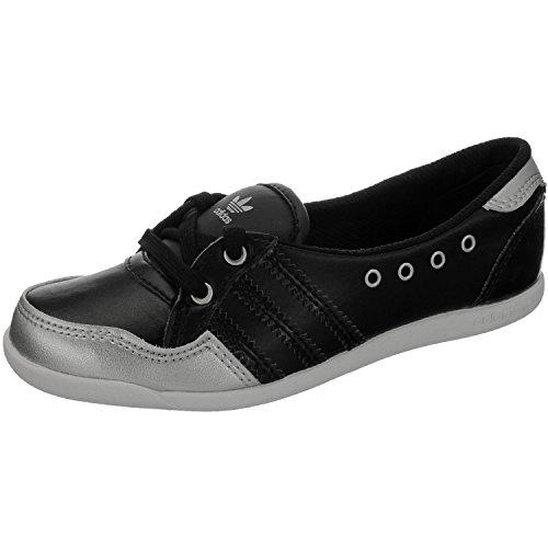 adidas Originals Forum Slipper K, Baskets mode fille Noir