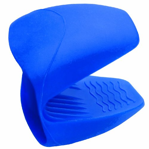Lacor 60014 - Manopla cubre asas de Silicona, color azul width=