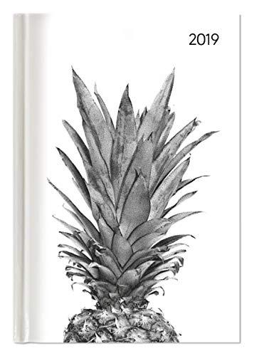 "Agenda giornaliera Style ""Ananas"" 2019, 352 pagine, 15x21 cm"