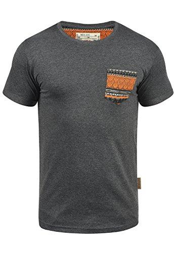 INDICODE Paxton T-Shirt, Größe:M;Farbe:Grey Mix (914)