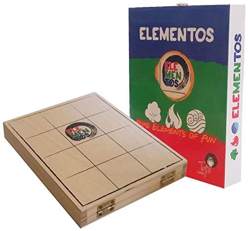 ELEMENTOS - 2 Jugador estrategia luz madera juego