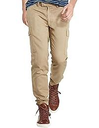 Polo Ralph Lauren pour homme en lin mélangé avant plat Jogger Pantalon 954b3c3a9715