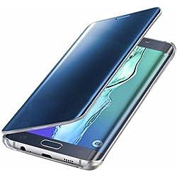Pacyer Galaxy S6 Edge PLUS Coque cas de secousse Housse protection Clip translucide Case pour Samsung Galaxy S6 Edge PLUS flip cover view Case PC Cover, 1, multi-taille