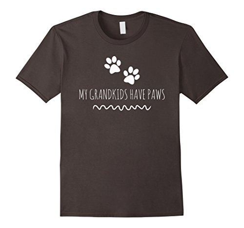 My Grandkids Have Paws best cat dog funny cute t-shirt