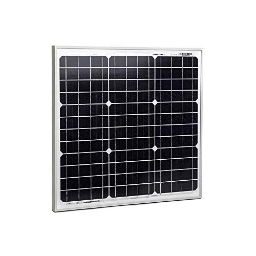 Solarkontor 50 Watt Solarmodul SK50MONO - Solarpanel 12V Monokristalline Solarzellen (50W)